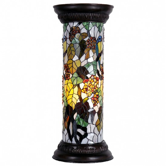 tiffany zuil lamp cloverdale 5332