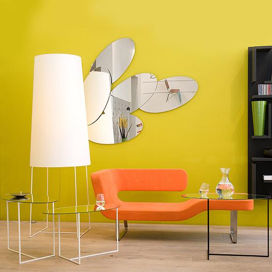 ovalen design spiegel turn usi maison. Black Bedroom Furniture Sets. Home Design Ideas