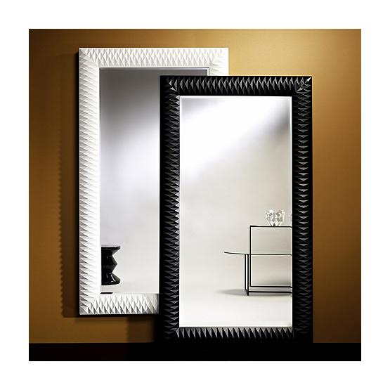 Miroir Nick Deknudt blanc et noir