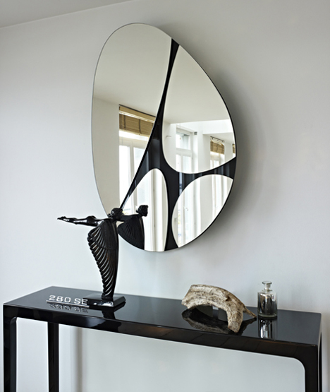 design spiegel pebbles deknudt mirrors usi maison. Black Bedroom Furniture Sets. Home Design Ideas