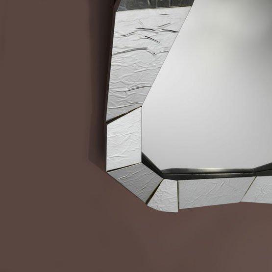 spiegel shift zilver detail