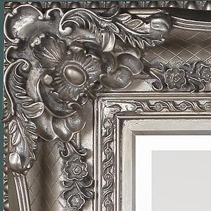barok spiegel zilver usi maison