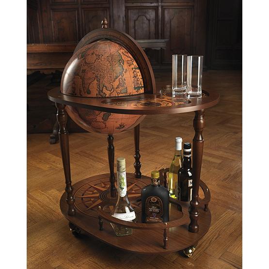 mappemonde bar trolley giasone usi maison. Black Bedroom Furniture Sets. Home Design Ideas