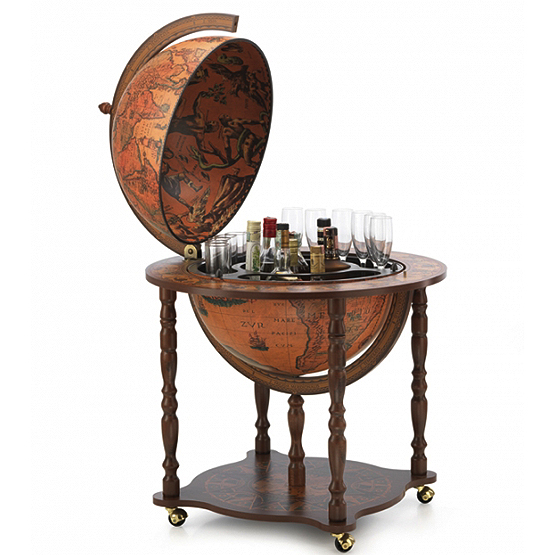dedalo bar globe classic usi maison. Black Bedroom Furniture Sets. Home Design Ideas