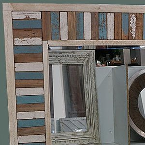 houten spiegel chania usi maison