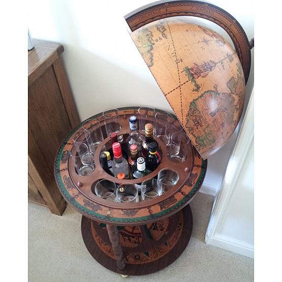 vintage bar globe calipso classic usi maison