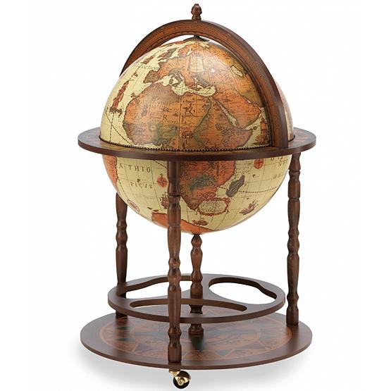 vintage bar globe calipso safari usi maison. Black Bedroom Furniture Sets. Home Design Ideas