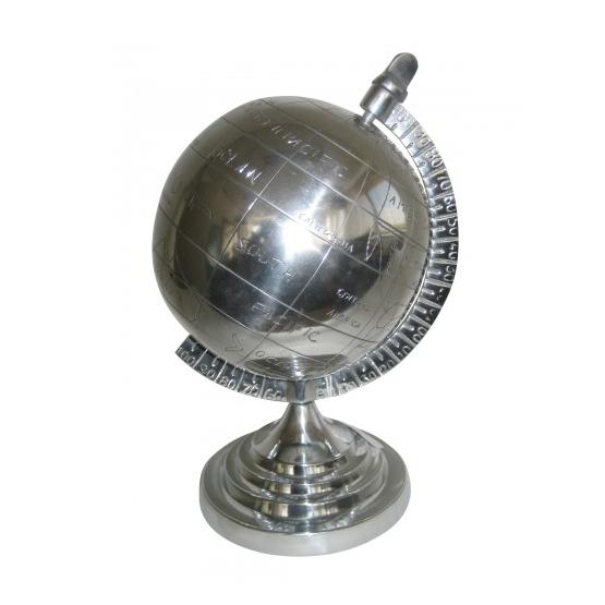 wereldbollen van aluminium bij usi maison