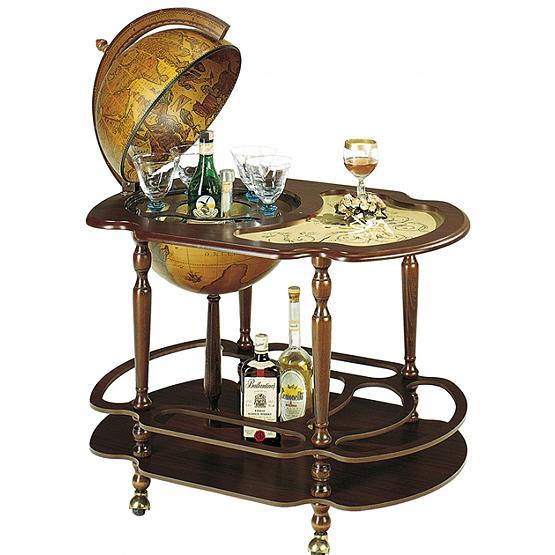 bar mappemonde giacinto usi maison. Black Bedroom Furniture Sets. Home Design Ideas