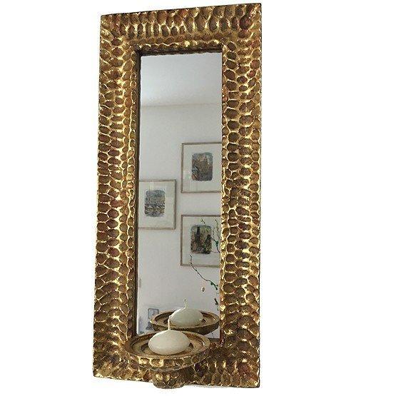 spiegel goud met kaars