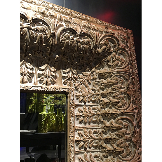 baroque image mirror cream usi maison