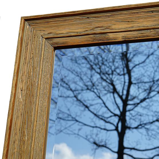 houten spiegel cockayne detail