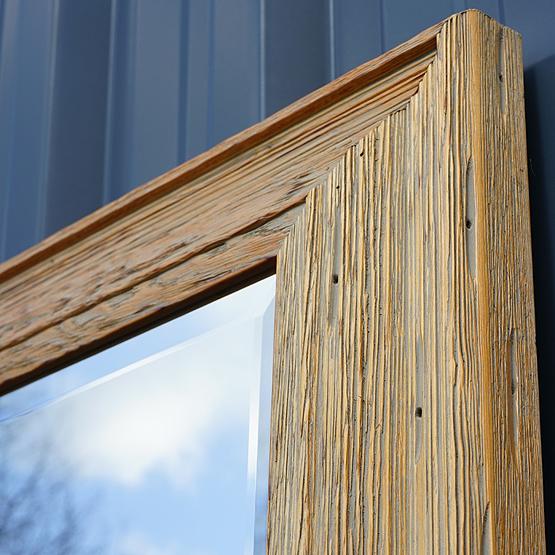 houten spiegel cockayne zijkant