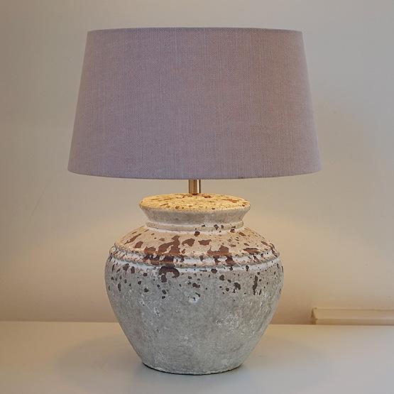 lamp sukaria keramiek antiek
