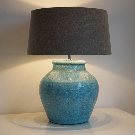tafellamp kodovan oud blauw