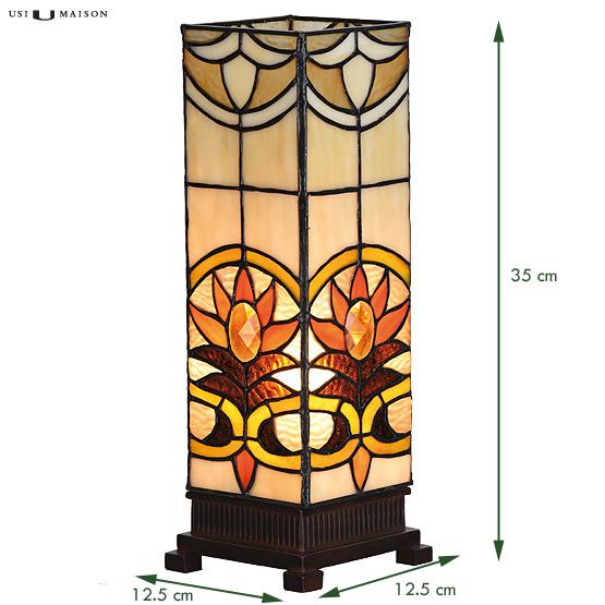 tiffany windlicht indiana small usi maison. Black Bedroom Furniture Sets. Home Design Ideas