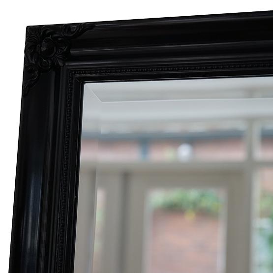 klassieke spiegel beaux zwart detail