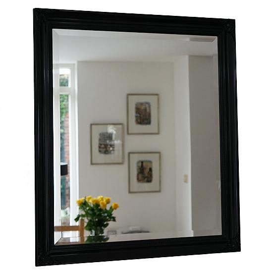 klassieke spiegel beaux zwart