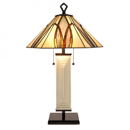 Art deco lampen tiffany tiffany tafellamp austin usi maison for Tiffany lampen