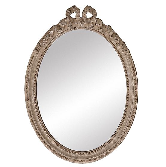 ovale spiegel cosy beige