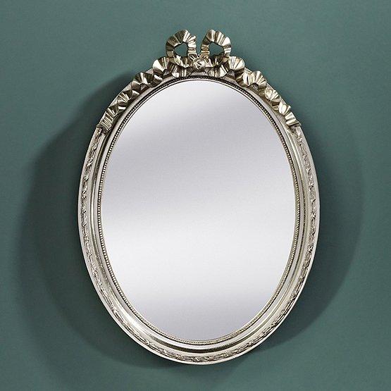 spiegel cosy ovaal zilver
