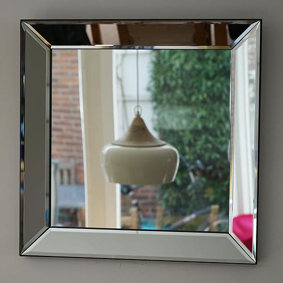 Moderne spiegel pearl met spiegellijst usi maison - Moderne spiegels ...