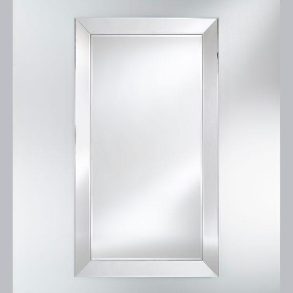 Grand miroir rectangulaire intégro