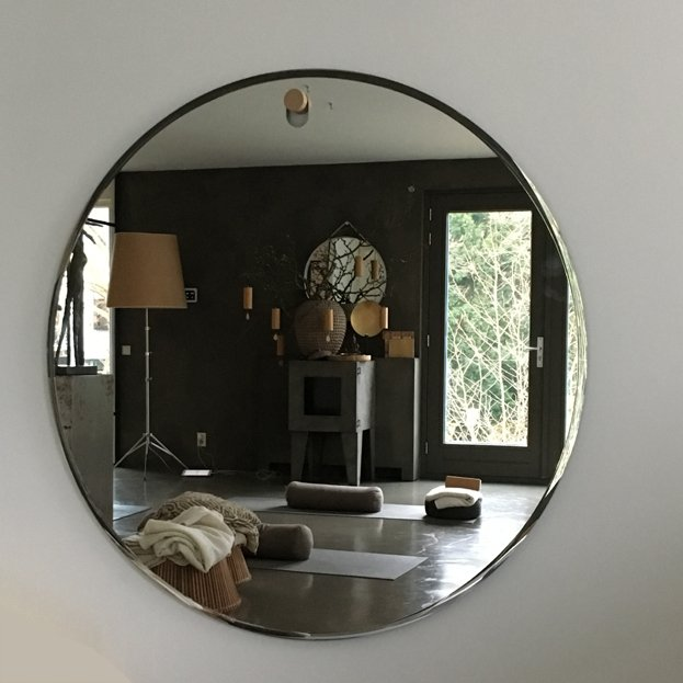 Grote Ronde Spiegel.Ronde Spiegel Globo Mirror