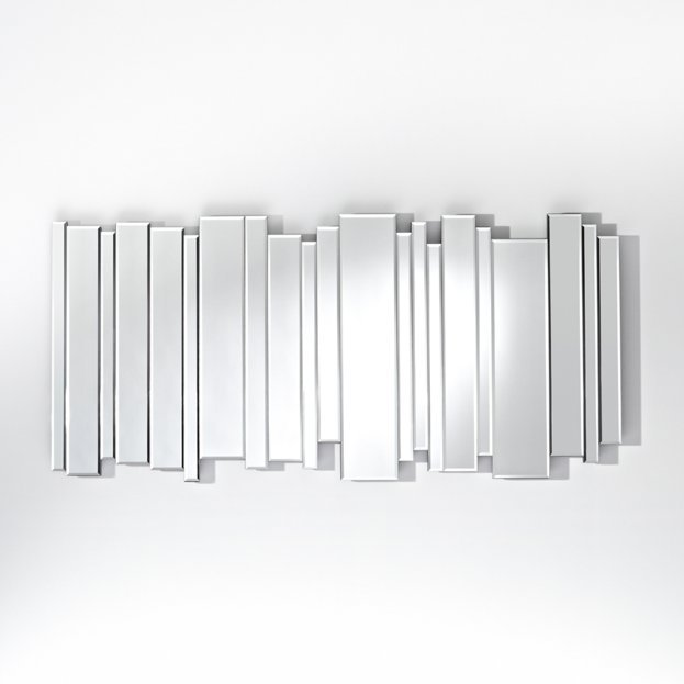 Een prachtige design spiegel side by side usi maison for Miroir 5 bandes