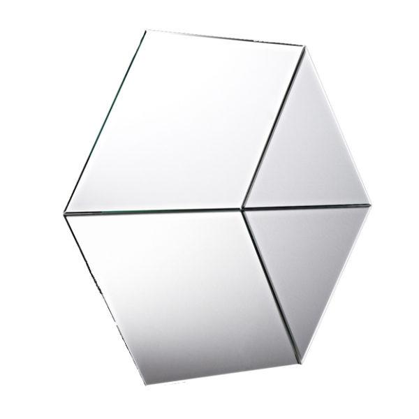 Deknudt spiegel Hexagon