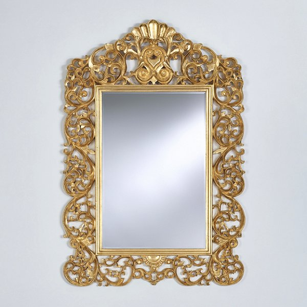Kuif spiegel Ornato bij Usi Maison