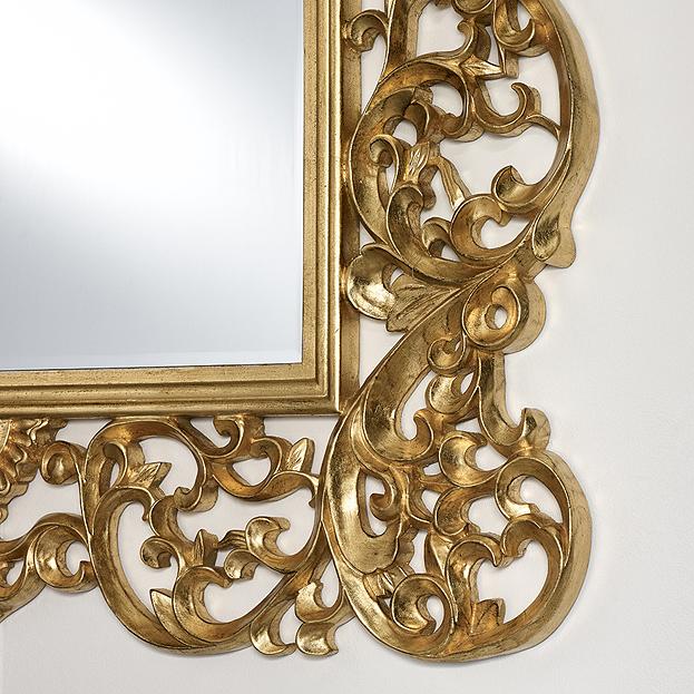 Detail spiegel ornato