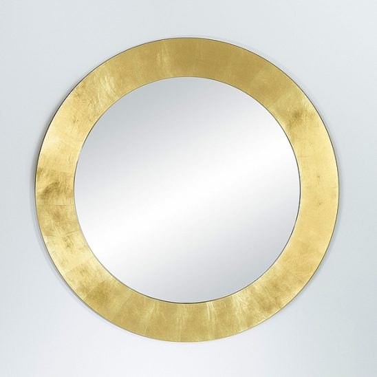 Deknudt spiegel Basic circle gold