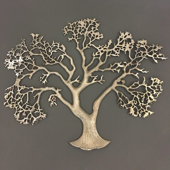 tree of life wandobject zilver