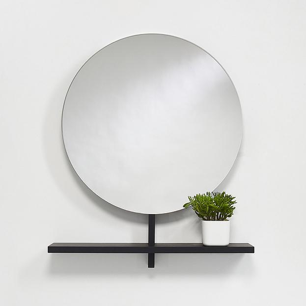 ronde design spiegel