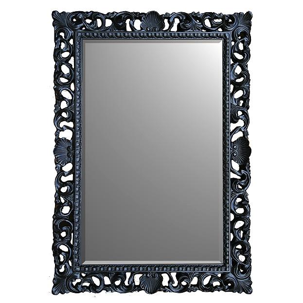 Barok spiegel met handgestoken lijst