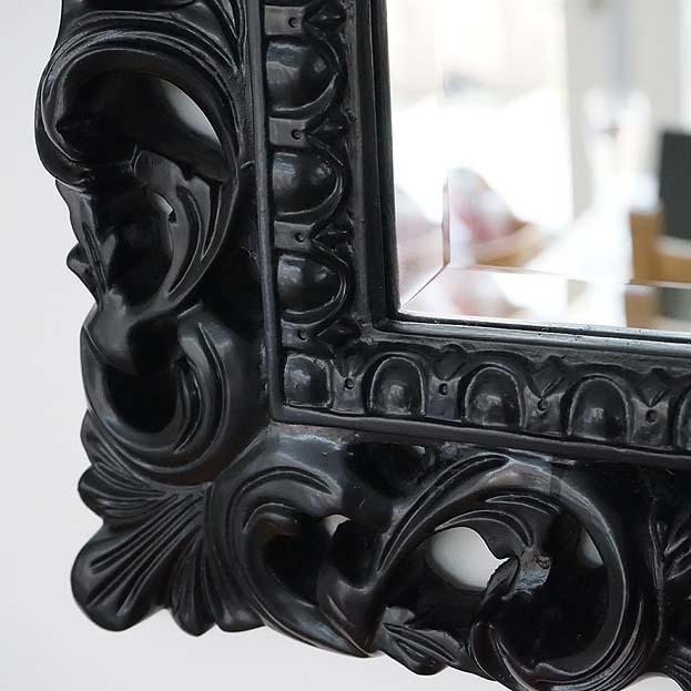 barok lijst met geslepen spiegel
