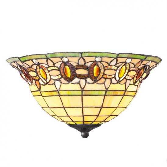 art deco tiffany plafondlamp