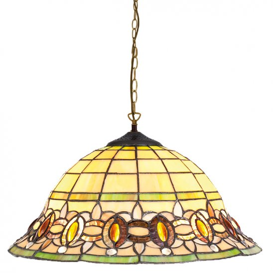 art deco tiffany hanglamp