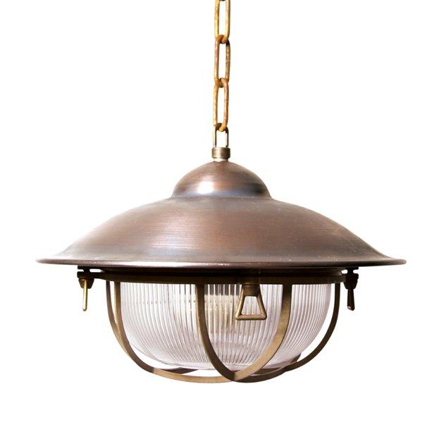 Cargo Bronze Kettenlampe