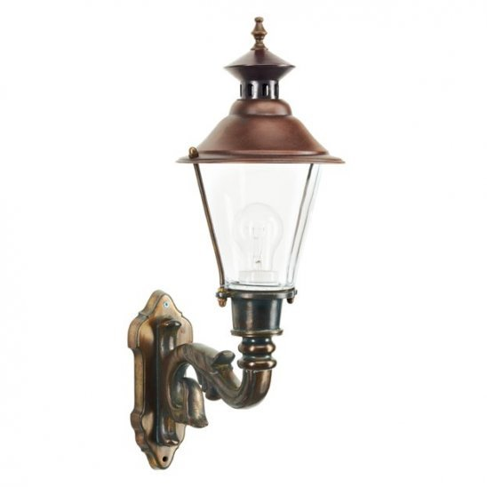 Ouddorp Wall lamp Bronze