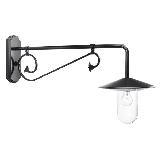 Louvre Wall lamp Extended black