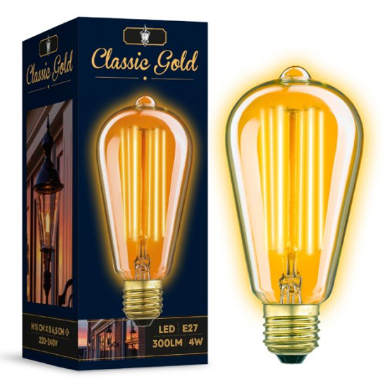 LED verlichting rustic gold
