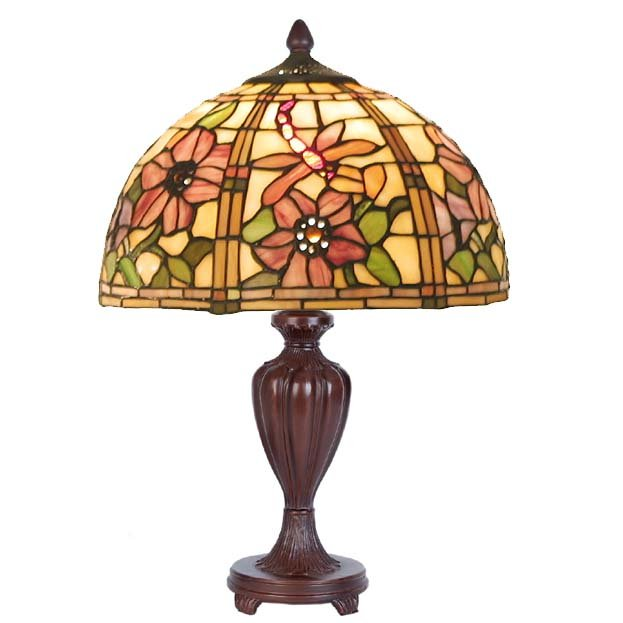 Kleine Tiffany tafellamp