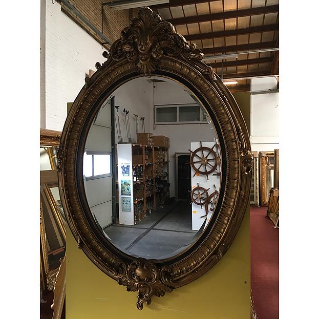 Grote ovale spiegel veronese