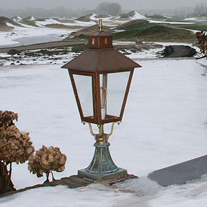 buitenlamp lantaarn bij Usi Maison