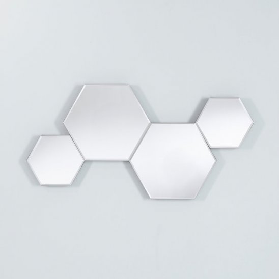 Honey Hexagonale Spiegel