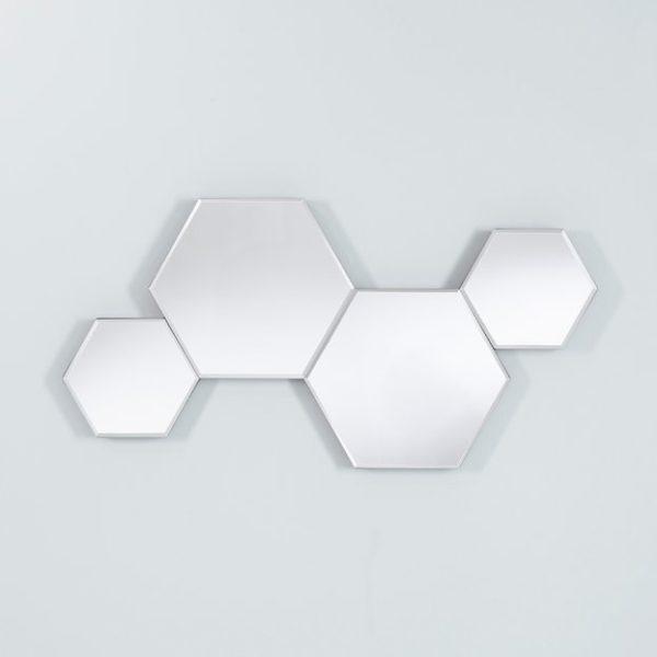 Honey Hexagonale Spiegel