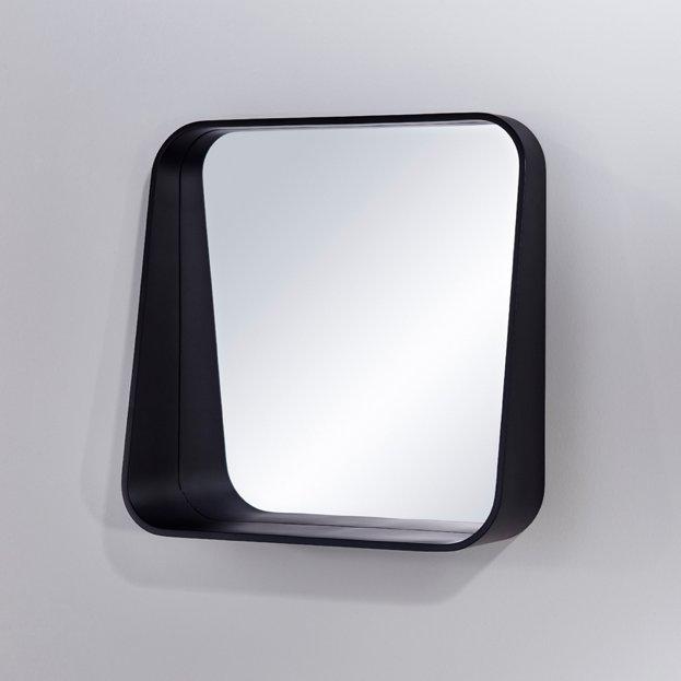 Rack Schwarz Design Spiegel