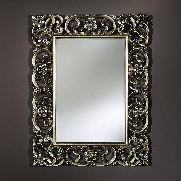 barockspiegel silber deknudt spiegel usi maison. Black Bedroom Furniture Sets. Home Design Ideas